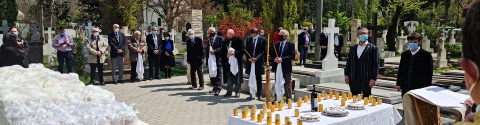 Comemorare organizată de Academia Română în cimitirul Șerban Vodă-Bellu