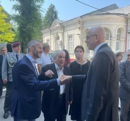 CEREMONIA DE INAUGURARE A NOULUI PLAN AL CIMITIRULUI ȘERBAN VODĂ-BELLU (13 IULIE 2021)